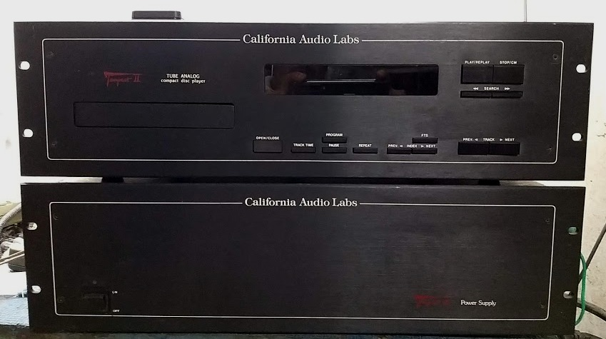 CALIFORNIA AUDIO LABS TEMPEST II CD PLAYER-1